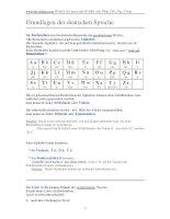 Ngữ pháp tiếng Đức deutsche grammatik