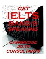 Get ielts band 9 speaking ( Sách ielts speaking hay )