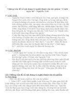 Một số vấn đề về nội dung và nghệ thuật của Cảnh ngày hè  Nguyễn Trãi (SGK Ngữ văn 10)