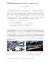 Quản lý nhà nước về quy hoạch đô thị nhằm phát triển giao thông đô thị tại TPHCM.