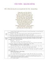 đề luyện tập nghị luận văn học ngữ văn 12 phần thơ