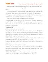 Phân tích vẻ đẹp của tình mẫu tử ở hai nhân vật Mai (Rừng xà nu) và người đàn bà hàng chài (Chiếc thuyền ngoài xa)