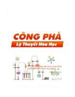 CONG PHA HOA HOC luyen thi Dai Hoc THPTQG