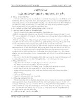 CHƯƠNG II GIẢI PHÁP KỸ THUẬT PHƯƠNG ÁN THIẾT KẾ CẦU