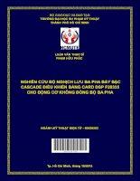 Nghiên cứu bộ nghịch lưu ba pha bảy bậc cascade điều khiển bằng card DSP