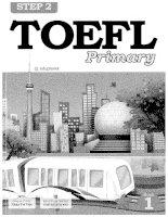 Sách tiếng anh Toefl step 2 book 1