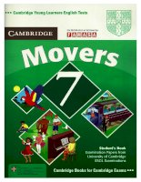 Sách tiếng anh Movers 7