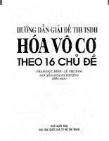 16 CHUYEN DE HOA luyen thi Dai Hoc THPTQG