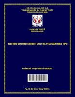 Nghiên cứu bộ nghịch lưu ba pha năm bậc NPC