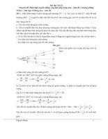Bài tập luyện thi HSG lý 7  Hướng dẫn chi tiết