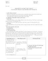 GIAO AN 12 môn  Ngữ Văn ban cơ bản