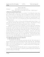 Chương 1: GIỚI THIỆU NỘI DUNG ĐỒ ÁNĐề tài : THIẾT KẾ CẦU NGUYỄN VĂN TRỖI _ TRẦN THỊ LÝ