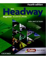New headway beginner 4th students book