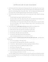 Mẫu 11 - Hướng dẫn trình bày tài liệu tham khảo trong luận văn