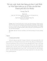 Tội sản xuất, buôn bán hàng giả theo Luật Hình sự Việt Nam