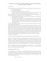 ỨNG DỤNG CỌC XI MĂNG ĐẤT TRONG CÔNG TÁC THIẾT KẾ VÀ THI CÔNG NỀN MÓNG CHO CÔNG TRÌNH