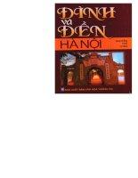 Đình và đền hà nội (NXB văn hóa thông tin 2005)   nguyễn thế long, 431 trang