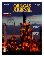 Oil and gas journal volume 109, issue 1