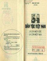 54 dân tộc việt nam là cây một gốc là con một nhà (NXB văn hóa thông tin 2014)   đặng việt thủy, 191 trang