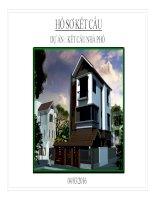 Revit Kết cấu nhà phố   Nguyễn Ngọc Sơn