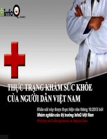 Báo cáo nghiên cứu nhu cầu khám sức khoẻ