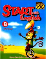 Young learners go start with english work book b