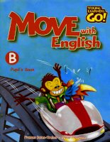 Young learners go move with english b pupil book