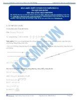 Chuyên đề 04  hình học tọa độ không gian kit1