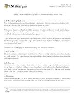 Easy Grammar  Phương pháp học ngữ pháp và từ vựng tiếng anh hiệu quả của ESL