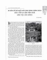Di sản cố đô Huế dưới ánh sáng chính sách bảo tồn di sản văn hóa dân tộc của Đảng