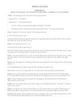 Bài Tập Chương Bảng Tuần Hoàn Hóa Học