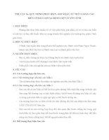 QUY TRÌNH PHÁT HIỆN, GHI NHẬN, XỬ TRÍ VÀ BÁO CÁO BIẾN CỐ BẤT LỢI TẠI BỆNH VIỆN TUYẾN TỈNH