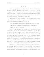 MỘT SỐ TÍNH CHẤT ĐẶC TRƯNG CỦA HỆ VẬT LIỆUPEROVSKITE LaMnO3