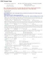 tuyển tập 12 đề đạt 8 điểm thpt quốc gia môn hóa học có đáp án