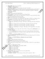 Các Hàm Excel bản đầy đủ dùng cho Tin A, Tin B , Tin trong Kế Toán