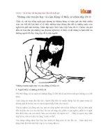 Những câu truyện hay và cảm động về thầy cô nhân dịp 20-11