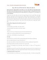 Học MS Excel 2013 bài 21: Hàm SEARCH