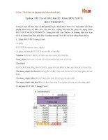 Tự học MS Excel 2013 bài 20: Hàm ROUNDUP, ROUNDDOWN