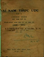 Đại nam thực lục tập 10 (NXB khoa học 1964)   viện sử học, 411 trang
