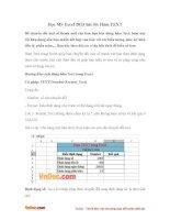 Học MS Excel 2013 bài 30: Hàm TEXT
