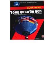 THCN giáo trình tổng quan du lịch (NXB hà nội 2005)   ths trần thị thúy lan, 72 trang
