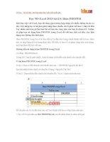 Học MS Excel 2013 bài 24: Hàm PROPER