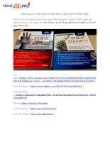 SÁCH 750 từ và cụm từ THƯỜNG gặp TRONG bài TOEIC (1)