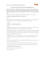 Học MS Excel 2013 bài 19: Hàm DPRODUCT