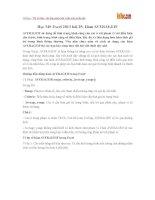 Học MS Excel 2013 bài 25: Hàm AVERAGEIF