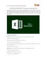 Học MS Excel 2013 bài 7: Các hàm cơ bản trên Excel