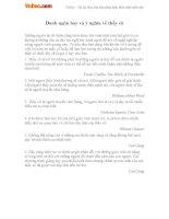 Những câu danh ngôn hay và ý nghĩa về thầy cô ngày 20/11