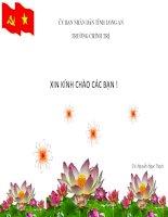 kinh tê thi trưong đinh hương XHCN theo tinh thần Đại hội XII của Đảng công san việt nam