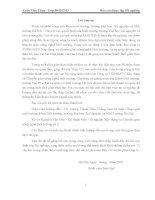 Báo cáo thực tập: Tìm hiểu hiện trạng và đề xuất biện pháp thu gom, xử lý chất thải rắn tại huyện Bắc Quang, tỉnh Hà Giang