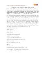 Lời bài hát Nắng mùa hạ - Phan Mạnh Quỳnh